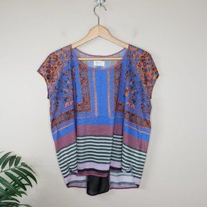 Anthropologie Dream Daily | Mixed Print Top
